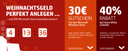 30€ Gutschein für Microsoft Windows Store + bis zu 40% Rabatt auf Snow White Zubehör @ HP Store