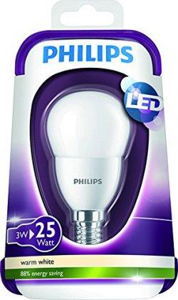 3€ bie Mediamarkt: PHILIPS LED Lampe ersetzt 25W, E14, warmweiß, 3W, 250 Lumen