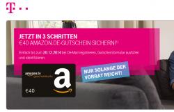 40€ Amazon Gutschein für die Registrierung bei De-Mail @Telekom