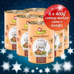 6 x GranataPet Premium Hundefutter Lamm & Kartoffel Gratis