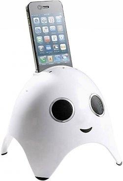 Amethyst iGhost Lautsprechersystem mit iPhone, iPad, iPod Dock  für 14 € inkl. Versand (39,99 € Idealo) @Digitalo