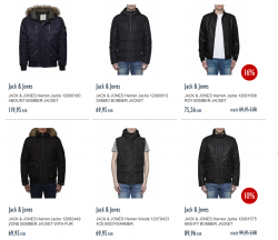 Auf alle JACK & JONES Jacken 50% Rabatt @Jeans-Direct.de