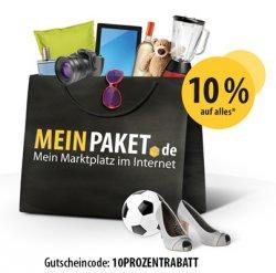 Bis heute 18 Uhr: 10% Gutschein bei MeinPaket !