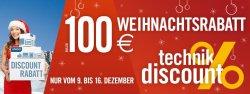 Bis zu 100 Euro Weihnachtsrabatt auf Vorführ- & Gebrauchtware @ Cyberport