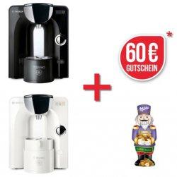 Bosch TASSIMO CHARMY + 60€ Gutschein + Milka Schokolade für 59,99€ inkl. Versand