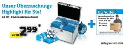 Conrad: Gratis Versand bei paypal Zahlung & Überraschungskoffer 2,99€ ab MBW 30€