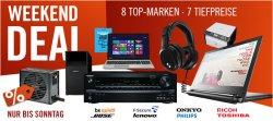 Cyberport Weekend-Deals 8 Topmarken – 7 Tiefpreise z.B. Philips SHO9207/10 Kopfhörer für 61,99 € (118,45 € Idealo)