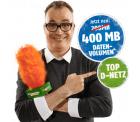 D-Netz: Klarmobile mit 100 Frei Min.,100 SMS & 400 MB statt 9,95€ für nur 2,95€ mtl.