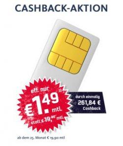 D1-Netz Talkline TMD Talk Easy 100 Minuten Aktion für effekttiv 1,49 € mtl. @ Getmobile
