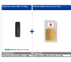 D2 Netz: Vodafone LTE Internetflat 3GB mit max 50 Mbit/s effektiv 3,74€ mtl.+ Surfstick @HANDYDEALER24
