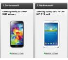 D2 :Otelo Allnet-Flat L/XL mit Samsung Galaxy S5 & Samsung Tab 3 7.0 Lite ab 24,99€ @Handyflash