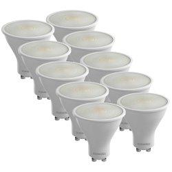 Duracell LED Lampe 10-er Sparpack Spot, GU10-Sockel, 4 Watt für 39,90 € (71,60 € Idealo) @Notebooksbilliger