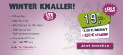 E-Plus: Yourfone Allnet Flat für 14,90 € mtl. + 120 € Amazon Gutschein