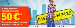 EDEKA mobil: 5 €/Monat für Allnet-SMS-Flat / 4,2 Cent pro Minute und SMS / 1,40 €/Monat für Community-Flat (Gespräche und SMS)