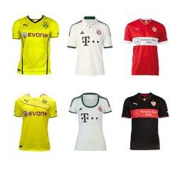 Fußball Trikots bekannter großen Fussball-Vereine für je nur 29,95€ inkl. Versand bei eBay