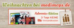 Gebrauchte CDs, DVDs, Bücher, Filme und Spiele 3 Tage ohne Versandkosten und ohne Mindestbestellwert bei medimops.de