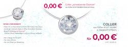 Gratis Collier aus 925er Echt-Silber (UVP 39,95€) für nur 4,95€ VSK + 5€ Gutschein mit MBW 10€ @Silvity