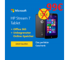 HP Stream 7 Signature Edition Tablet für 99€ inkl. Versand [idealo 129€] @Microsoftstore