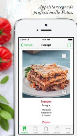 """iOS + Android: Koch-App """"Italienisch Kochen"""" für 99 Cent statt 3,99 €"""