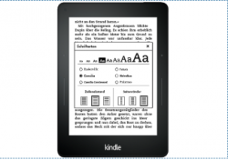 KINDLE E-BOOK READER 6, WIFI für 44 € [ Idealo 49 € ] @ Saturn