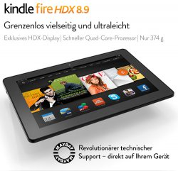 Kindle Fire HDX 8.9-Tablet ca 30-40% reduziert ab 265,30€ @Amazon