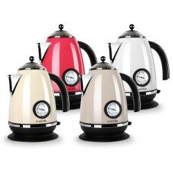 Klarstein Aquavita Chalet Wasserkocher im Retrodesign für 99,99€ @ebay.de
