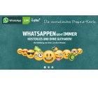 KOSTENFREI MESSAGEN – Die E-Plus WhatsApp SIM bei DailyDeal für 5 statt 10 € Startpaketpreis mit 5 € mehr Startguthaben