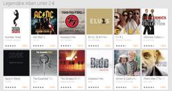 Legendäre Alben unter 2 € @ GooglePlay