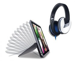Logitech AnyAngle Case für iPad + Logitech UE 6000 Over-Ear Kopfhörer für nur 54,99€ (Idealo: 122€ !!!)
