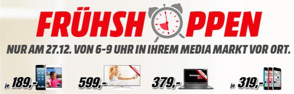 Media Markt Saturn Frühshopping Angebote Am 27122014 Von 6 9
