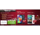 Otelo Allnet Flat + SMS Flat + 1 GB Internet Flat bis zu 21,6 Mbit/s + Samsung Galaxy S5 oder HTC One M8 für 29,99 € mtl. @sparhandy