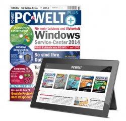 PC-WELT Plus kostenloses Probeheft. 1 x PC-WELT Plus inkl. digitaler Ausgabe in der App +  mit 3 DVDs @idgshop.de
