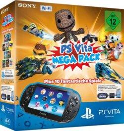 PS Vita WiFi Konsole 8GB inkl. Mega Pack 1 für 99 Euro @mediamarkt.de