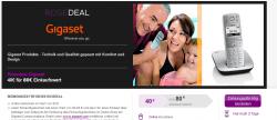 Rosedeal: 80€ Gigaset Online Gutschein für 40€ @Vente-Privee Rosedeal