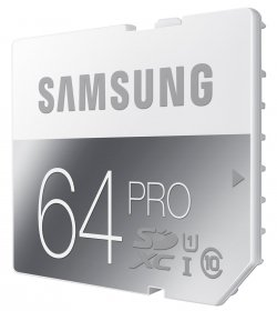 Samsung Memory 64GB PRO SDXC Speicherkarte für 45,97€ @Amazon (Idealo: 56,94€)