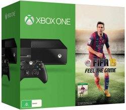 Saturn.de: Lieferung innerhalb von 3h für 4,90€ + Microsoft Xbox One mit Fifa 15 + Forza für 379€