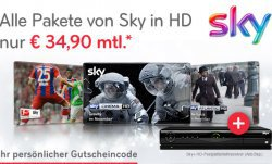 Sky Komplett inkl. HD und Go für 24 Monate für mtl. 34,90€ statt 66,90€ @Sky.de