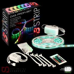 sluce iLight PROFI LED Stripes 5m Komplettset für 18,99 € (26,99  € Idealo) @eBay