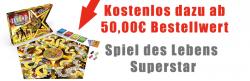 Spiel des Lebens Superstar kostenlos ab MBW 50 € bei Zengoes (Idealo: 9,95€)