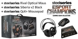SteelSeries eSport Champions Gaming Gear Collection für 69,90 € (136,87 € Idealo) @Notebooksbilliger