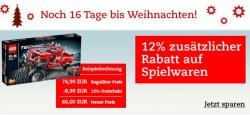 Thalia: 12% Gutschein für Spielzeug auch reduzierte Produkte – Weihnachten ist bald!