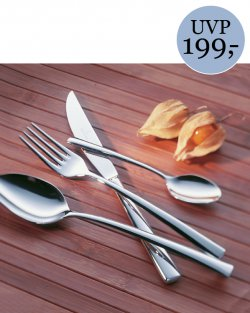 Villeroy & Boch Piemont Tafelbesteck 24tlg. 18/10 Edelstahl rostfrei für 44€ inkl. Versand [idealo 79,95€] @ebay