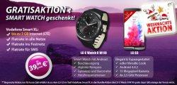 Vodafone: Allnet Flat ( LTE ) mit LG G3 + Gratis LG G Watch R für 39,99 mtl. @ Mobilediscounter