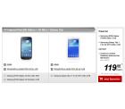 Vodafone Internet-Flat 500 MB + Samsung I9195 Galaxy S4 Mini + Samsung Galaxy Tab 3 7.0 Lite  für 4,99 € mtl. @ Handytick