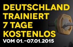 Vom 01.01. bis 07.01.2015 7 Tage lang kostenlos bei McFIT trainieren