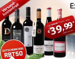 Weinvorteil Gutscheine : 50% Neukundengutschein, 25€ Gutschein bei 50€ MBW, 15€ Gutschein bei 35€ MBW