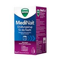 WICK MediNait Erkältungssirup  90 ml, 120 ml oder 180 ml ab 3,29 € [ idealo 5,79 € ] @Apotal.de