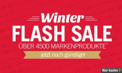 Winter Flash Sale bis zu 90% Rabatt auf über 4500 Markenprodukte @MandM Direct