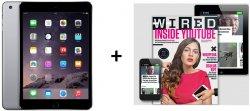 Wired Membership  Abo + z.b. Apple TV HD für 89 € oder iPad mini 3 WiFi 16GB für nur 339 € @ WIRED