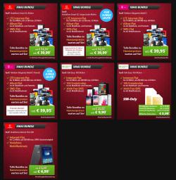 XMAS BUNDLES ALARM: z.b. D1 Talkline Talk Easy 100 ( 100 Freiminuten, 3000SMS + 200MB)  für effektiv 0,99€ mtl. @Sparhandy